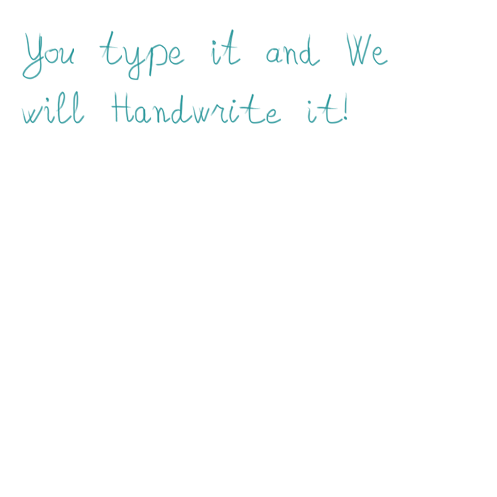 Sample Handwriting